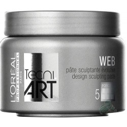 L`Oreal Tecni Art Web Design Sculpting Paste Włóknisty krem rzeźbiący Force 5 150ml