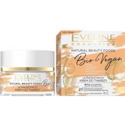 Eveline Natural Beauty Foods Bio Vegan ultraodżywczy krem do twarzy do cery suchej i odwodnionej 50ml