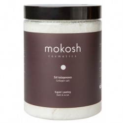 Mokosh Collagen Salt Bath & Scrub sól kolagenowa do kąpieli 1000g