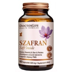 Doctor Life Szafran Safr`inside suplement diety 60 tabletek