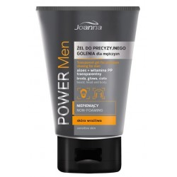 Joanna Power Men Transparent Gel For Precision Shaving żel do precyzyjnego golenia dla mężczyzn 150g
