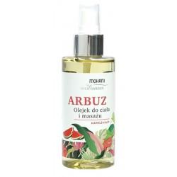 Mohani Wild Garden nawilżający olejek do ciała i masażu Arbuz 150ml