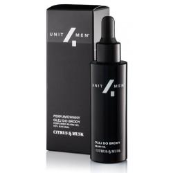 Unit4Men Perfumed Beard Oil perfumowany olej do brody Citrus&Musk 30ml