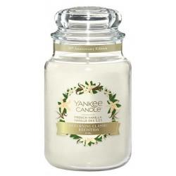 Yankee Candle Large Jar duża świeczka zapachowa French Vanilla 623g