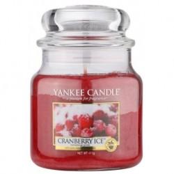 Yankee Candle Med Jar średnia świeczka zapachowa Cranberry Ice 411g
