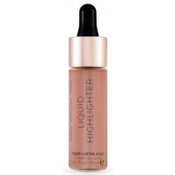 Makeup Revolution Liquid Highlighter V4 Rozświetlacz w płynie Lustre Gol 18ml