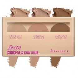 Rimmel Insta Conceal Contour paleta do konturowania twarzy 020 Medium 8,4g