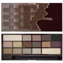 Makeup Revolution Death By Chocolate Paleta 16 cieni 22g