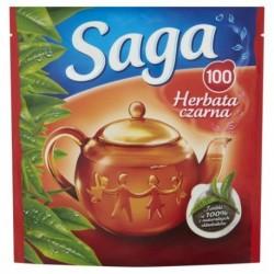 Saga Herbata czarna 100 torebek 140g