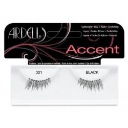 Ardell Accent 301 1 Para sztucznych rzęs Black