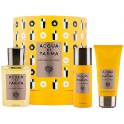 Acqua Di Parma Colonia Intensa Woda kolońska 100ml + Żel pod prysznic 75ml + Dezodorant 50ml spray
