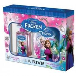 La Rive Disney Frozen Woda perfumowana 50ml spray + Żel pod prysznic i szampon 2w1 250ml