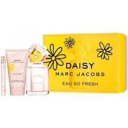 Marc Jacobs Daisy Eau So Fresh Woda toaletowa 125ml spray + Woda toaletowa spray 10ml + Balsam do ciała 150ml