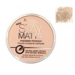 Rimmel Stay Matte Long Lasting Pressed Powder puder prasowany 004 Sandstorm 14g