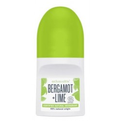 Schmidt`s Natural Deodorant Roll-on naturalny dezodorant kulce Bergamot & Lime 50ml