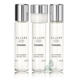 Chanel Allure Homme Sport Eau Extreme Woda toaletowa 3 x 20ml wkład