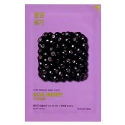 Holika Holika Pure Essence Mask Sheet Acai Berry Antyoksydacyjna maseczka z ekstraktem z owoców acai 20ml