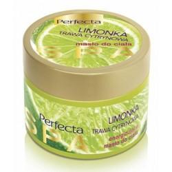Perfecta Spa Energizujące masło do ciała Limonka & Trawa Cytrynowa 225 g