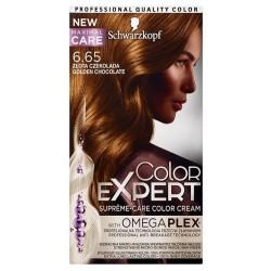 Schwarzkopf Color Expert krem trwale koloryzujący do włosów 6.65 Złota Czekolada