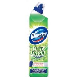 Domestos Total Hygiene Wc Gel żel do czyszczenia toalet Lime Fresh 700ml