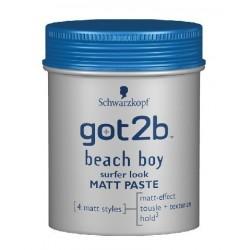 Schwarzkopf Got2b Beach Boy Matt Paste Matująca pasta do włosów Force 3 100ml