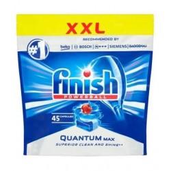 Finish Powerball Quantum Max Kapsułki do mycia naczyń w zmywarkach 45szt