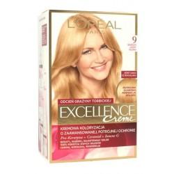 L`Oreal Excellence Creme Farba do włosów 9 Bardzo jasny blond