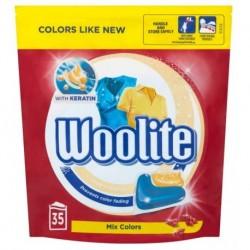 Woolite Mix Colors kapsułki do prania z keratyną 35szt