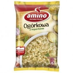 Amino Noodle Cucumber Soup zupa instant Ogórkowa z koperkiem 61g