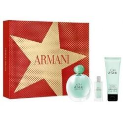 Giorgio Armani Acqua di Gio Pour Homme Woda perfumowana 100ml spray + Woda perfumowana 15ml + Balsam do ciała 75ml