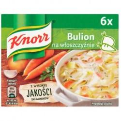 Knorr Bulion na włoszczyźnie 6szt