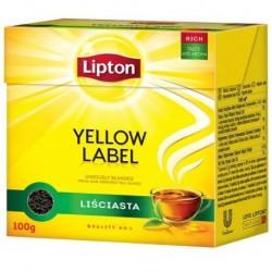Lipton Yellow Label herbata czarna liściasta 100g
