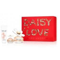 Marc Jacobs Daisy Love Woda toaletowa 100ml spray + Woda toaletowa 4ml + Balsam do ciała 75ml