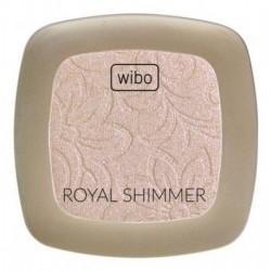 Wibo Royal Shimmer rozświetlacz prasowany 3,5g