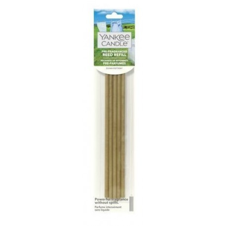 Yankee Candle Reed Refill pałeczki zapachowe Clean Cotton