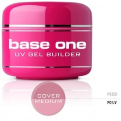Silcare Gel Base maskujący żel UV do paznokci One Cover Medium 30g