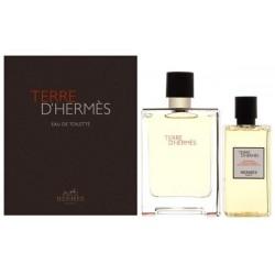 Hermes Terre d` Hermes Woda toaletowa 100ml spray + Żel pod prysznic 80ml