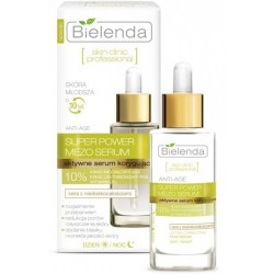 Bielenda Skin Clinic Professional Aktywne serum korygujące dla cery z niedoskonałościami dzień/noc 30g