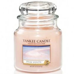 Yankee Candle Small Jar Mała świeczka zapachowa Pink Sands 104g