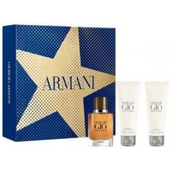 Giorgio Armani Acqua di Gio Absolu Woda perfumowana 40ml spray + Żel pod prysznic 75ml + Balsam po goleniu 75 ml