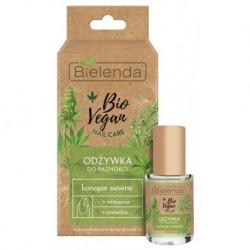 Bielenda Bio Vegan Nail Care odżywka do paznokci wzmacniająco-utwardzająca Konopie Siewne 10ml