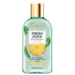 Bielenda Fresh Juice płyn micelarny rozświetlający z wodą cytrusową Ananas 100ml