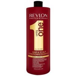 Revlon Uniq One All In One Hair 10R Shampoo szampon do włosów dodający objętości Coconut 1000ml