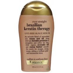 Organix Serum do prostowania i wygładzania włosów z brazylijską keratyną 100ml