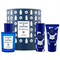 Acqua Di Parma Blu Mediterraneo Mandorlo Di Sicilia Woda toaletowa 75ml + Balsam do ciała 40ml + Żel pod prysznic 50ml