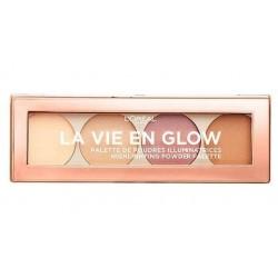 L`Oreal La Vie En Glow Highlighting Powder Palette Paleta rozświetlaczy 01 Warm Glow Eclat Dore 5g