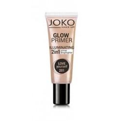 Joko Make-Up Glow Primer Illuminating 2in1 Primer&Highlighter baza i rozświetlacz w kremie 2w1 201 Love Yourself 25ml