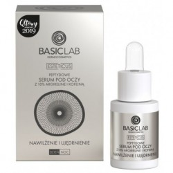 Basiclab Esteticus Peptydowe serum pod oczy z 10% argireline i kofeina 15ml