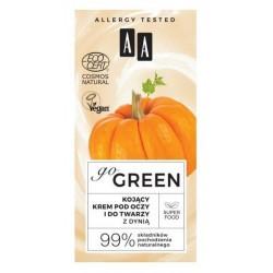 AA Go Green kojący krem pod oczy i do twarzy z dynią 50ml