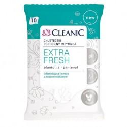 Cleanic Extra Fresh chusteczki do higieny intymnej Alantoina & Pantenol 10szt